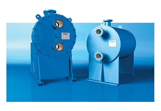 SUPERMAX® Shell & Plate Heat Exchanger