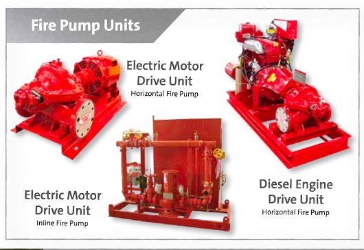 Grundfos Fire Pump Units